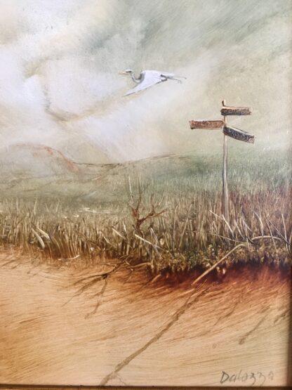 Lucette DaLozzo oil painting - 'Migratory Bird' c.1975-25937