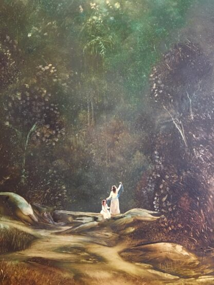 Lucette DaLozzo oil painting - 'Peaceful Harmony' 1979-26182