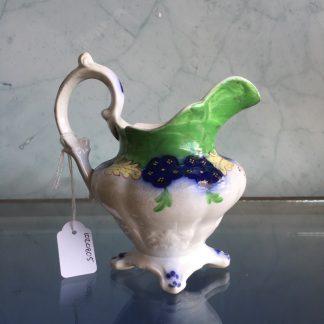 English porcelain milk jug, Samuel Alcock c. 1845-0