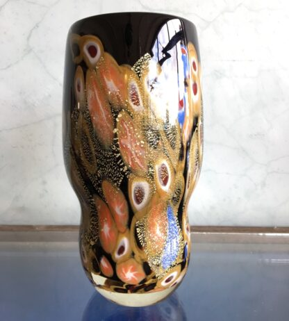 Large Murano Millefiori Glass vase, mid 20th century-25903