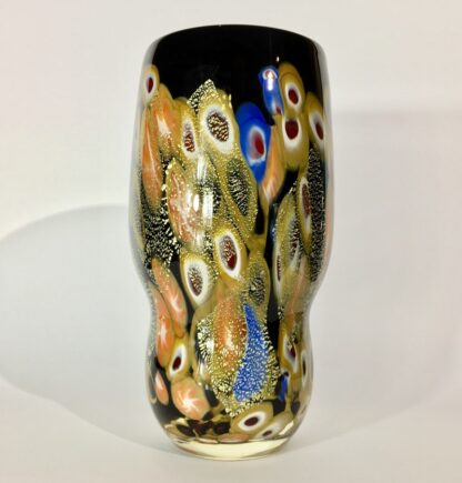 Large Murano Millefiori Glass vase, mid 20th century-0