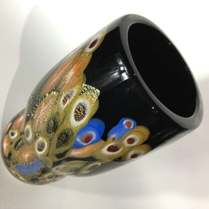 Large Murano Millefiori Glass vase, mid 20th century-25906