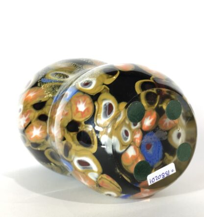 Large Murano Millefiori Glass vase, mid 20th century-25914