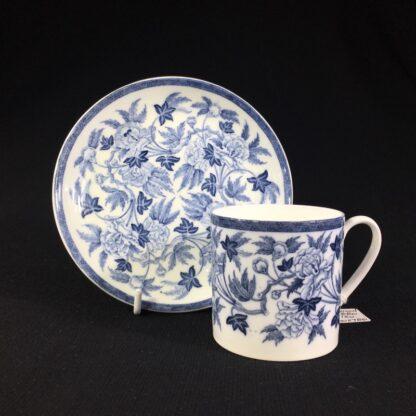 Wedgwood coffee can & saucer, C. 1880 -0