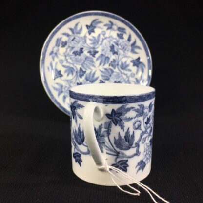 Wedgwood coffee can & saucer, C. 1880 -26238