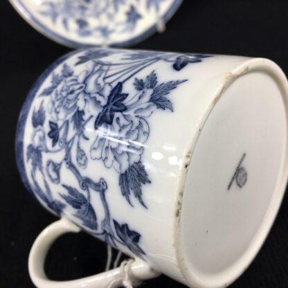 Wedgwood coffee can & saucer, C. 1880 -26237