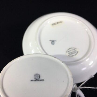 Wedgwood coffee can & saucer, C. 1880 -26240