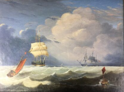 John Lynn 'Reef Breeze' , oil on canvas signed & dated 1827-25956