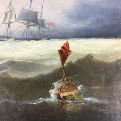 John Lynn 'Reef Breeze' , oil on canvas signed & dated 1827-25959