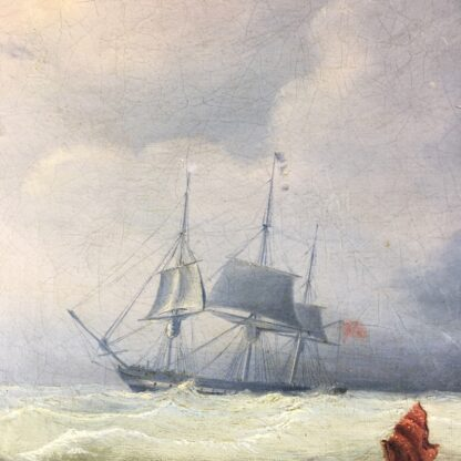 John Lynn 'Reef Breeze' , oil on canvas signed & dated 1827-25957