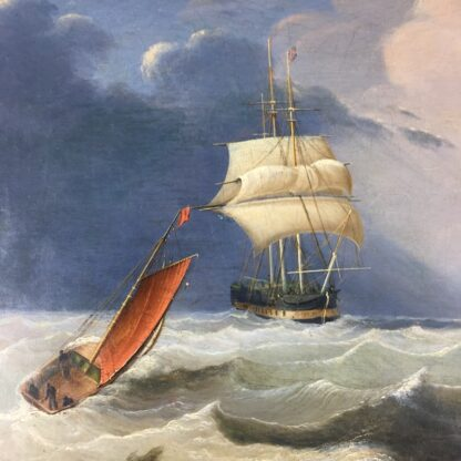 John Lynn 'Reef Breeze' , oil on canvas signed & dated 1827-25958
