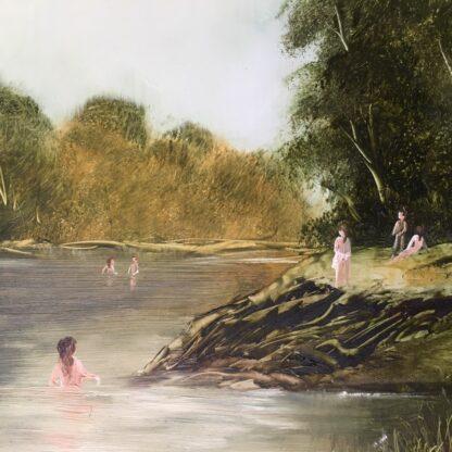 Lucette DaLozzo oil painting - 'Bathers' c.1975-26209