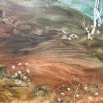 Lucette DaLozzo oil painting - 'Billabong picnic' 1977-26193