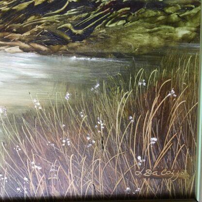 Lucette DaLozzo oil painting - 'Bathers' c.1975-26208