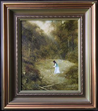 Lucette DaLozzo oil painting - 'Beautiful Glade' c. 1975-0