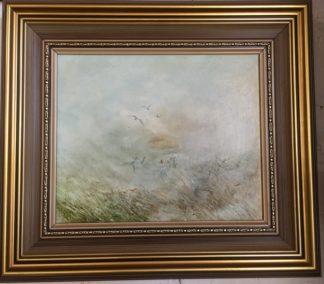 Lucette DaLozzo oil painting - 'Improvised Ballet' c.1975-0