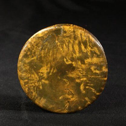 Treen & Tortoiseshell commemorative snuffbox, Duke of York medallion, c. 1820 -26987