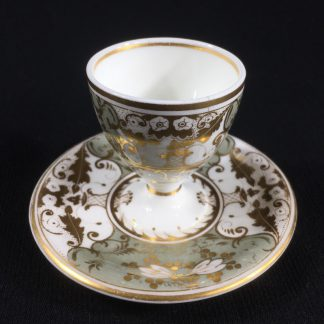 Bloor Derby egg cup with integral stand, c. 1830 -0
