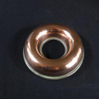 Small copper mould, circular form, c. 1900-0