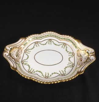 Copeland dish in the Chelsea-Derby style, Spode Copeland c.1900-0