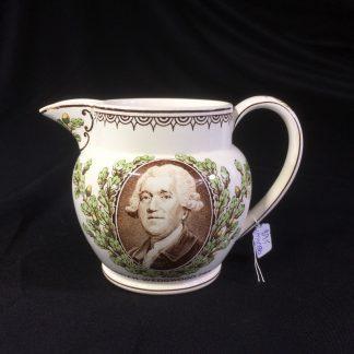 Wedgwood creamware commemorative jug, -0