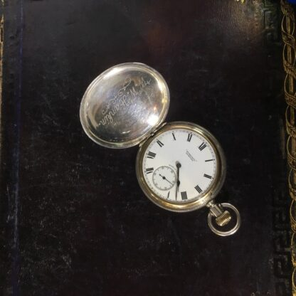American Elgin Sterling keystone fob watch, for Dunklings Melbourne, c. 1900-27145