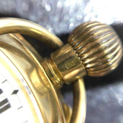 Swiss pocket watch, 18K gold case-27138