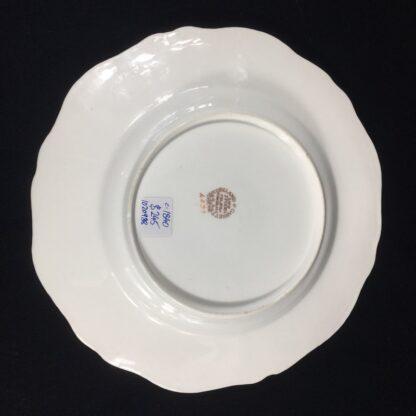 Copeland & Garrett 'Feldspar Porcelain' plate, flowers pattern #4033, c.1840 -26444