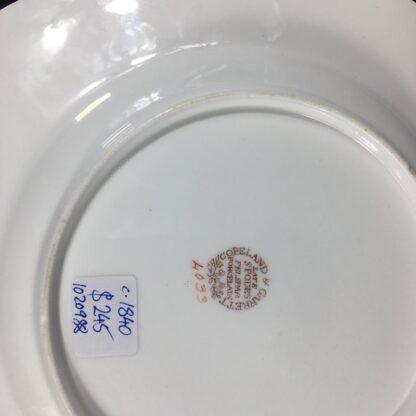 Copeland & Garrett 'Feldspar Porcelain' plate, flowers pattern #4033, c.1840 -26445