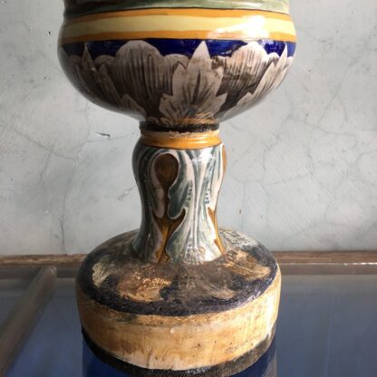 Large Italian Maiolica vase, in the Renaissance manner, 19th century-27970
