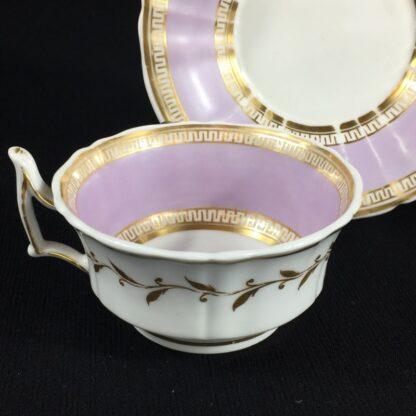Chamberlain Worcester cup & saucer, 'New Dejeunner' shape, c. 1825-26598
