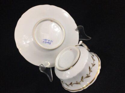 Chamberlain Worcester cup & saucer, 'New Dejeunner' shape, c. 1825-26597