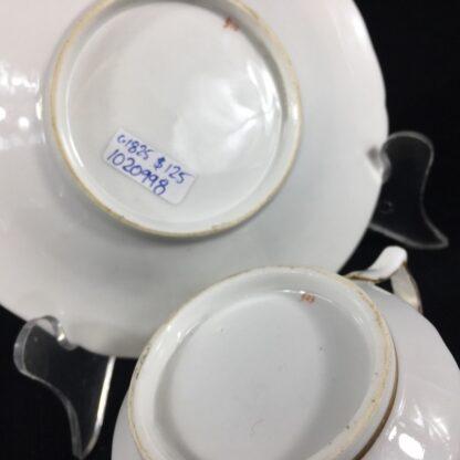 Chamberlain Worcester cup & saucer, 'New Dejeunner' shape, c. 1825-26600