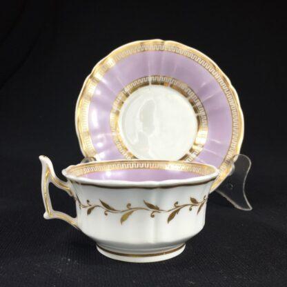 Chamberlain Worcester cup & saucer, 'New Dejeunner' shape, c. 1825-26601