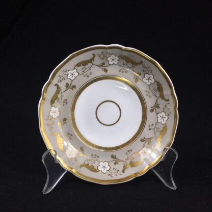 Samuel Alcock cup & saucer, 'Percy Adams' shape, pattern 5095, c. 1840 -26591