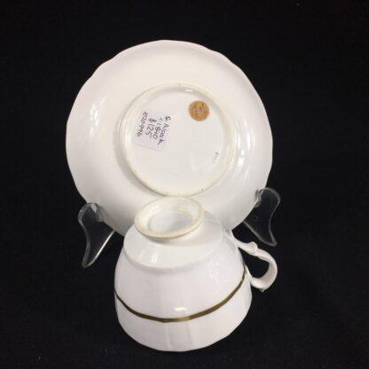 Samuel Alcock cup & saucer, 'Percy Adams' shape, pattern 5095, c. 1840 -26594
