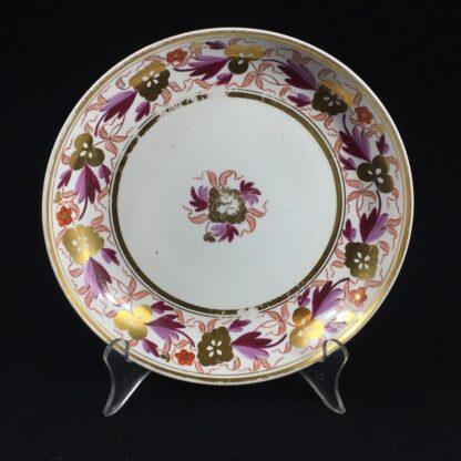 Spode porcelain saucerdish, pattern #889, circa 1805 -0