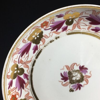 Spode porcelain saucerdish, pattern #889, circa 1805 -26567