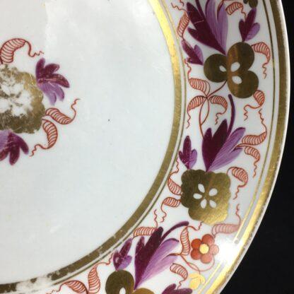 Spode porcelain saucerdish, pattern #889, circa 1805 -26569