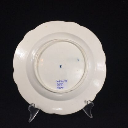 Caughley plate printed with the 'conversation' pattern, c. 1780-26548