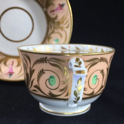 Derby cup & saucer, classical urn pattern, c. 1810 -26539