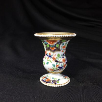 Spode miniature vase, imari pattern #3071, circa 1825-26785