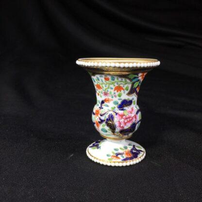 Spode miniature vase, imari pattern #3071, circa 1825-26779