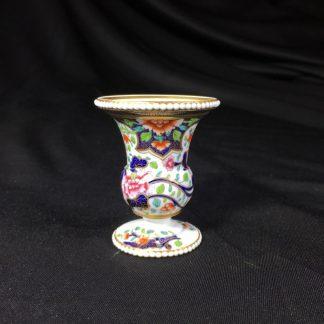 Spode miniature vase, imari pattern #3071, circa 1825-0