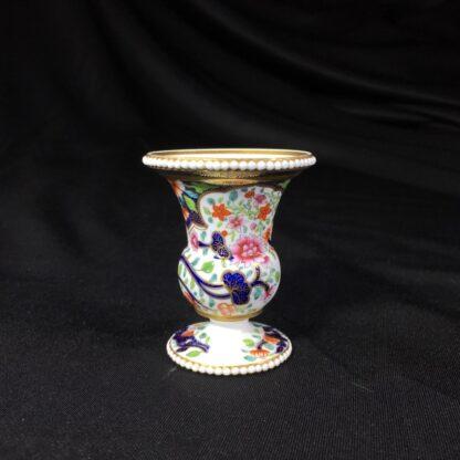 Spode miniature vase, imari pattern #3071, circa 1825-26781
