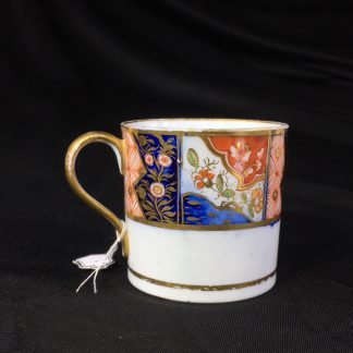 Chamberlains Worcester coffee can, Imari band, c.1810-0