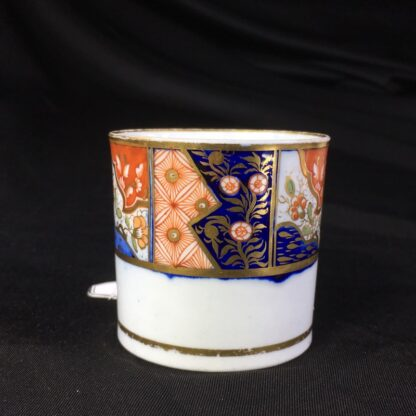 Chamberlains Worcester coffee can, Imari band, c.1810-27034