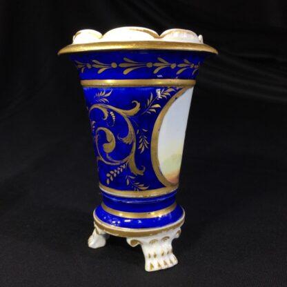 English porcelain spill vase, farmer, possibly Bourne, c. 1830 -26997