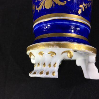 English porcelain spill vase, farmer, possibly Bourne, c. 1830 -26998