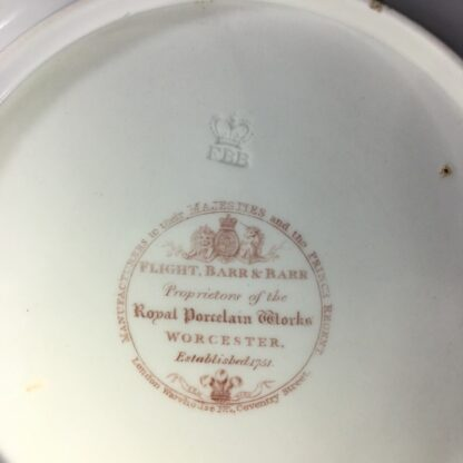 Flight Barr & Barr plate, roseheads & forget-me-nots, c. 1807-13-27212